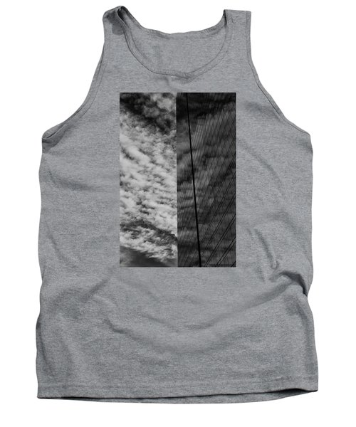 Tank Top featuring the photograph Sky Show by Lora Lee Chapman