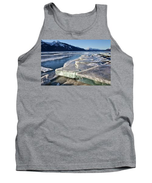 Slabs Of Ice Tank Top by Michele Cornelius