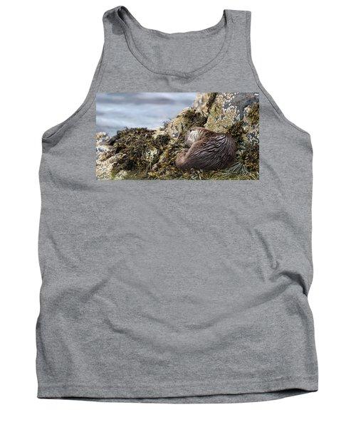 Sleeping Otter Tank Top