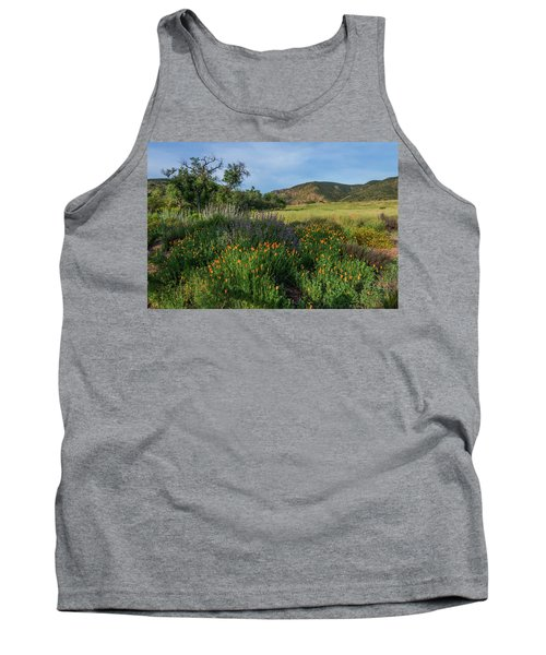 Sleeping Poppies, Mission Trails Tank Top