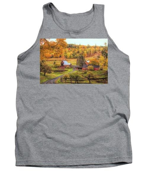 Sleepy Hollow - Pomfret Vermont In Autumn Tank Top