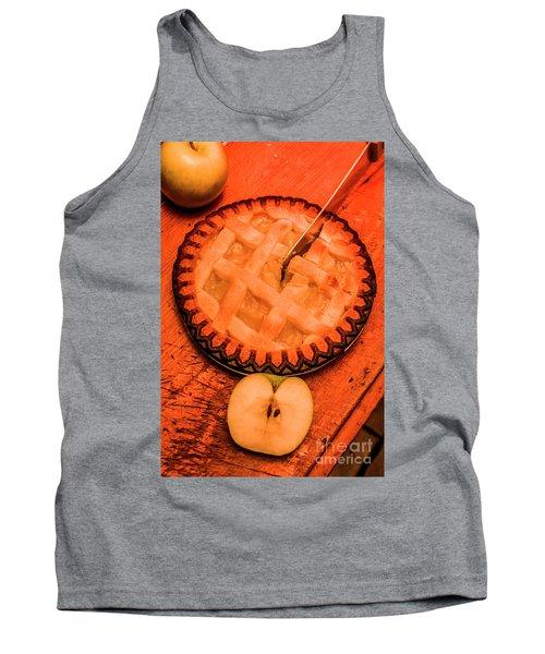 Slicing Apple Pie Tank Top