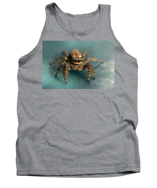 Small Jumping Spider Tank Top