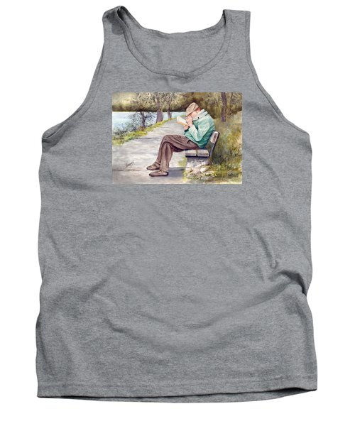 Small Print Tank Top by Sam Sidders