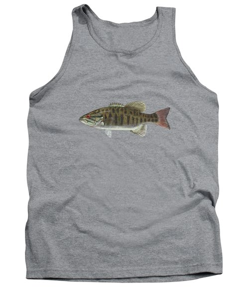 Smallmouth Bass Blue Lagoon  Tank Top