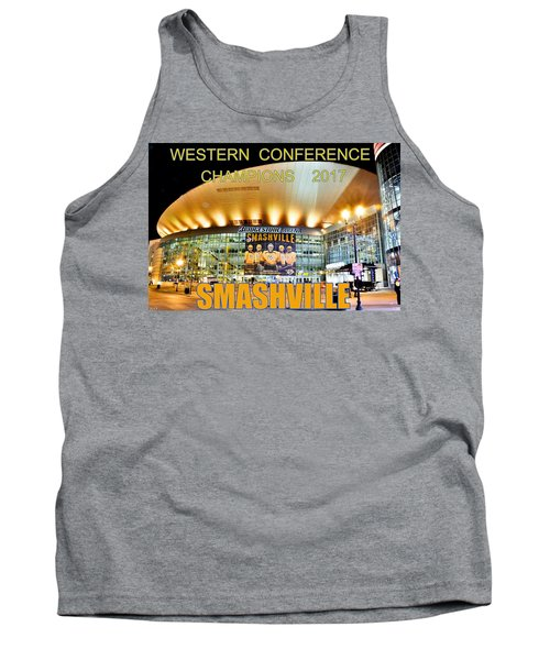 Smashville Western Conference Champions 2017 Tank Top