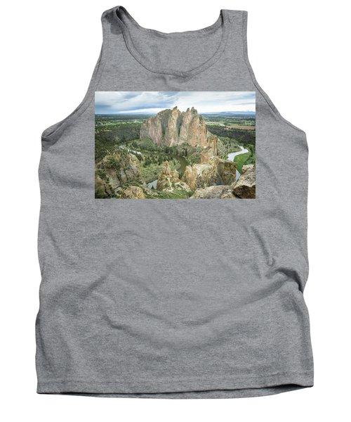 Smith Rock From Misery Ridge Tank Top