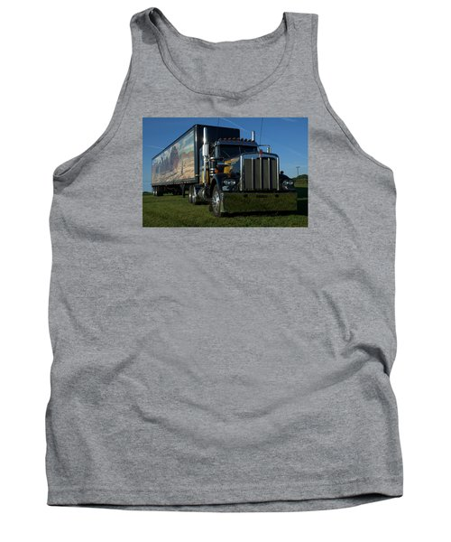 Smokey And The Bandit Tribute Semi Truck Tank Top
