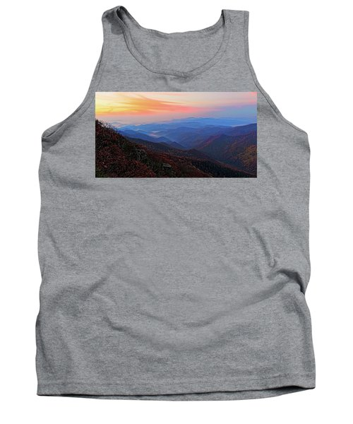Dawn From Standing Indian Mountain Tank Top