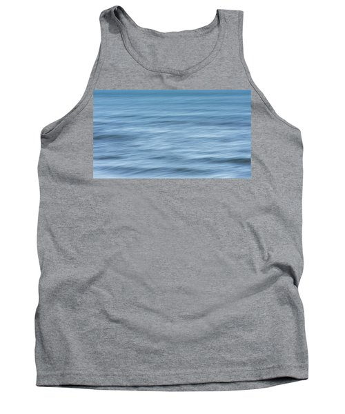 Smooth Blue Abstract Tank Top by Terry DeLuco