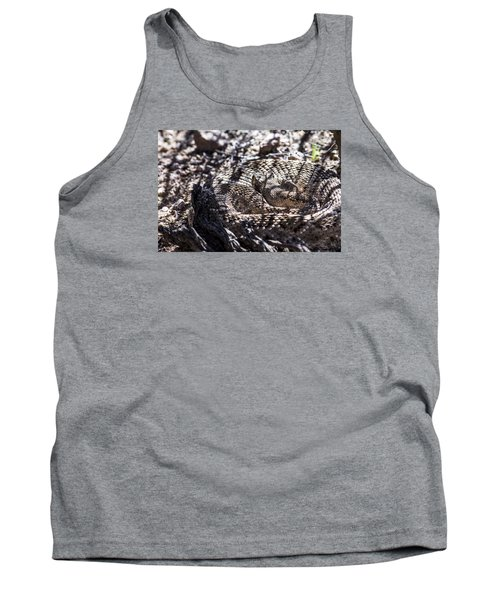 Snake In The Shadows Tank Top by Chuck Brown
