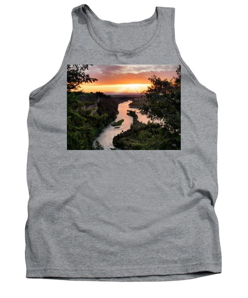 Snake River Sunset Tank Top