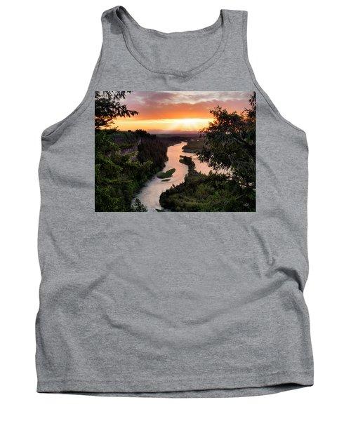 Snake River Sunset Tank Top