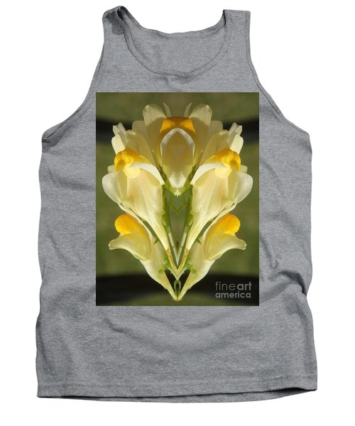 Snappy Bouquet Tank Top by Christina Verdgeline