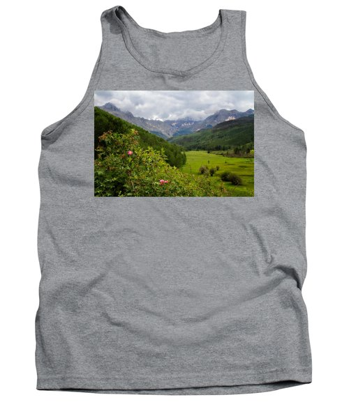 Tank Top featuring the photograph Sneffles Range by Lana Trussell