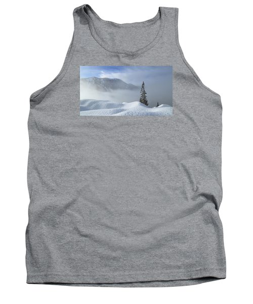 Snow And Silence Tank Top by Lynn Hopwood