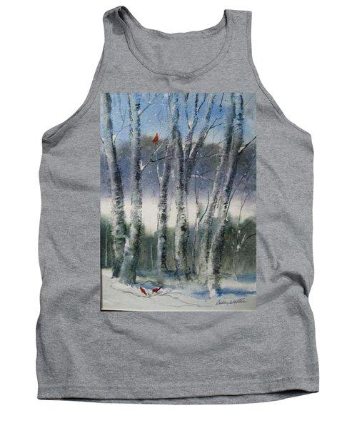 Snow Birch  Tank Top