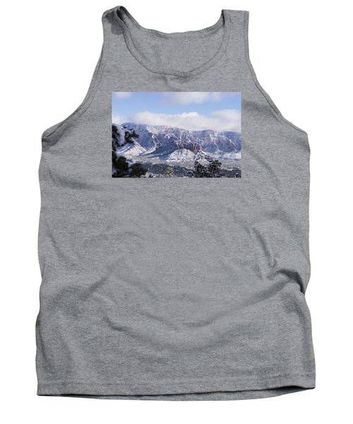 Tank Top featuring the photograph Snow Blanket by Laura Pratt