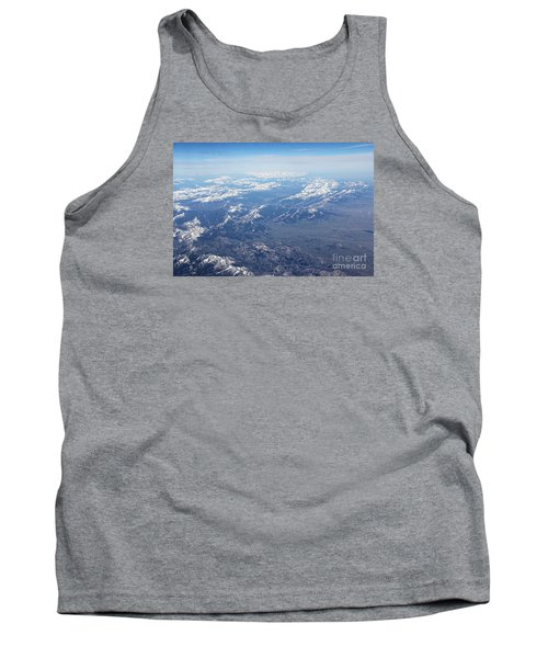 Snow Covered Rocky  Tank Top by Yumi Johnson