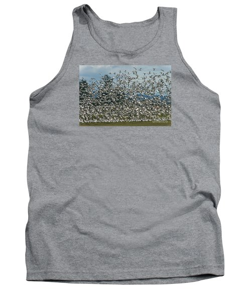 Snow Geese Convention Tank Top