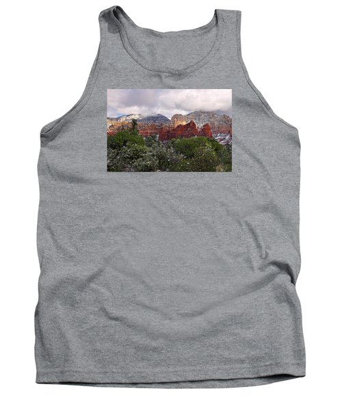 Snow In Heaven Tank Top