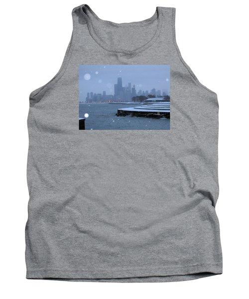 Snowy Chicago Tank Top
