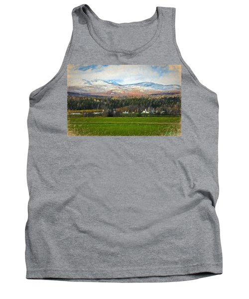 Snow On The Mountains Tank Top