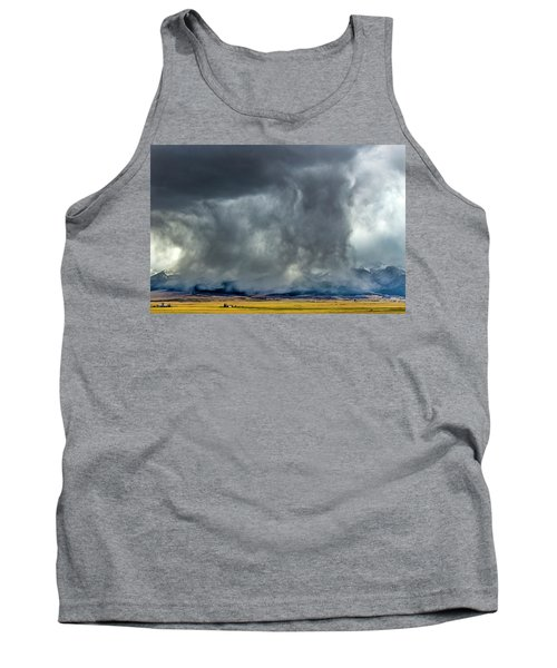Snow On The Rockies Tank Top