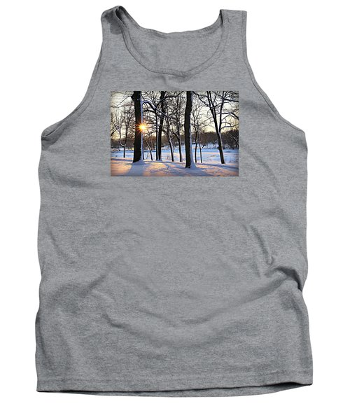 Snow Starred Grove Tank Top