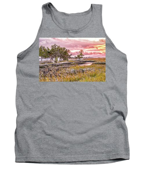 Snow Sunset -marsh View Tank Top