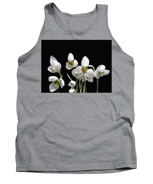 Snowdrop Flowers Tank Top