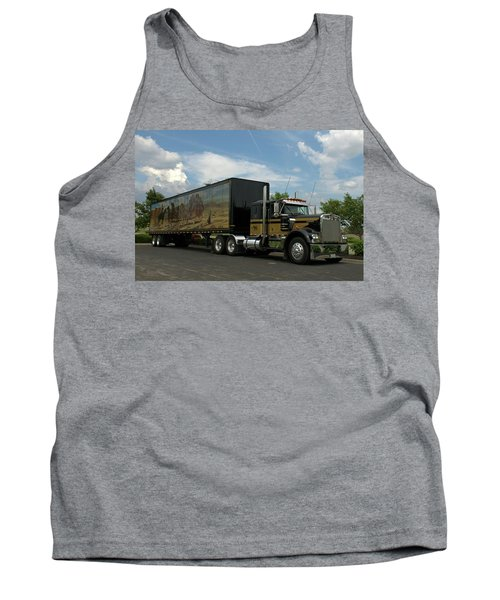 Snowmans Dream Replica Semi Trruck Tank Top