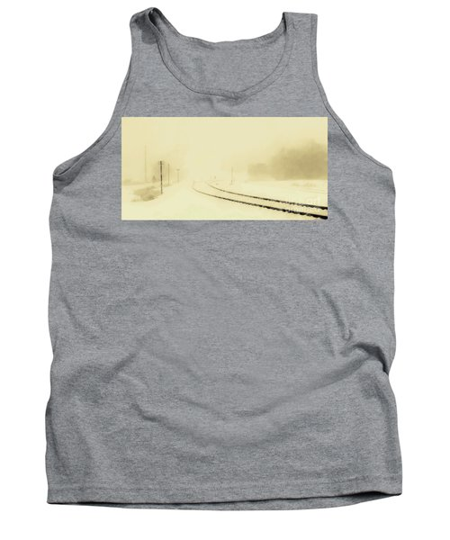 Snowstorm In The Yard S Tank Top