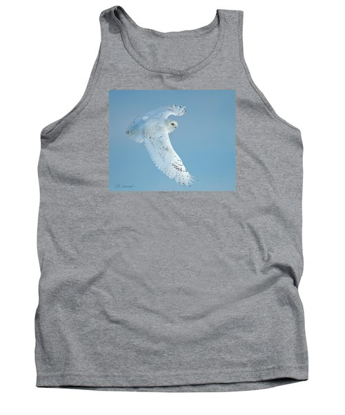 Snowy Against Blue Sky Tank Top