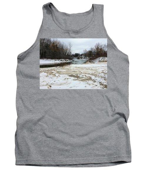 Snowy Elk Rapids River Tank Top