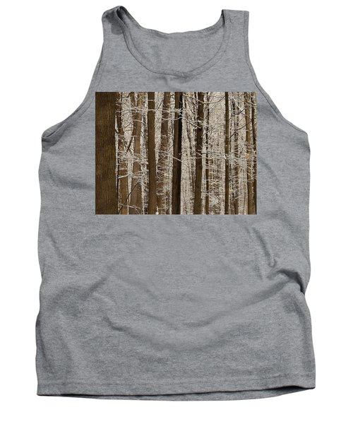 Snowy Forest Elevation Tank Top