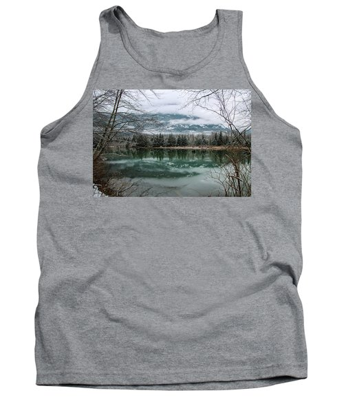 Snowy Reflection Tank Top