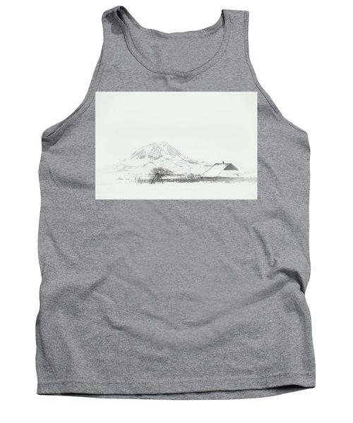 Snowy Sunrise Tank Top