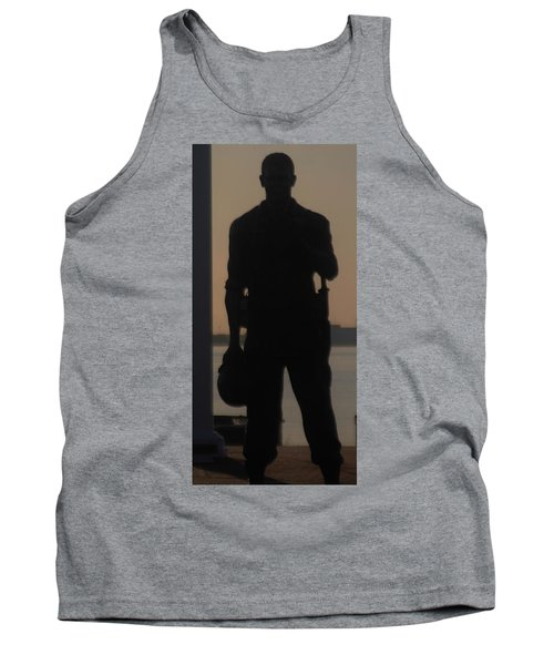 Tank Top featuring the photograph So Help Me God by John Glass