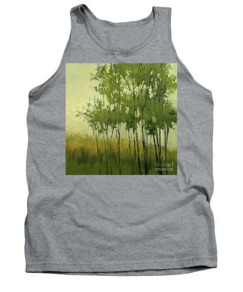 So Tall Tree Forest Landscape Painting Tank Top