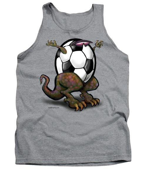 Soccer Saurus Rex Tank Top