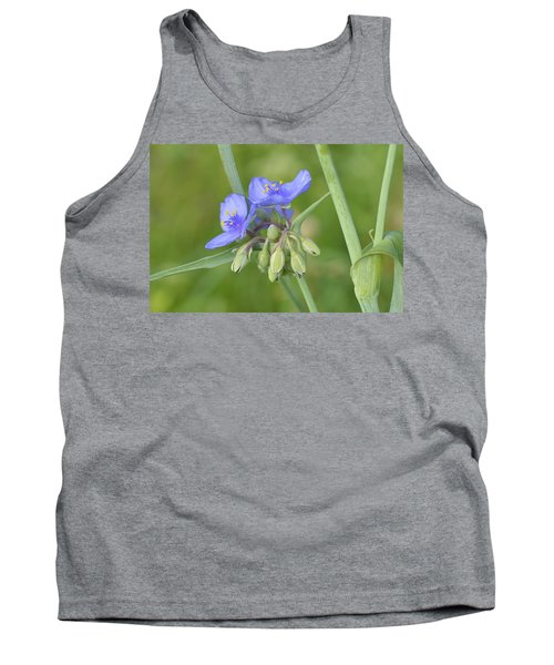 Soft Purple Spider Tank Top