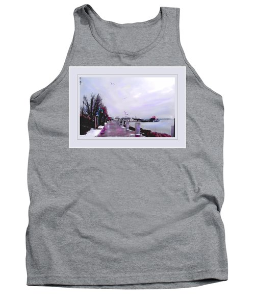 Tank Top featuring the photograph Soft Winter Day by Felipe Adan Lerma