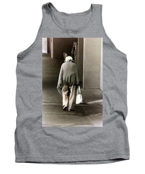 Solitary Lady Tank Top by Don Gradner