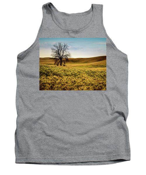 Tank Top featuring the photograph Solitary Tree by Chris McKenna