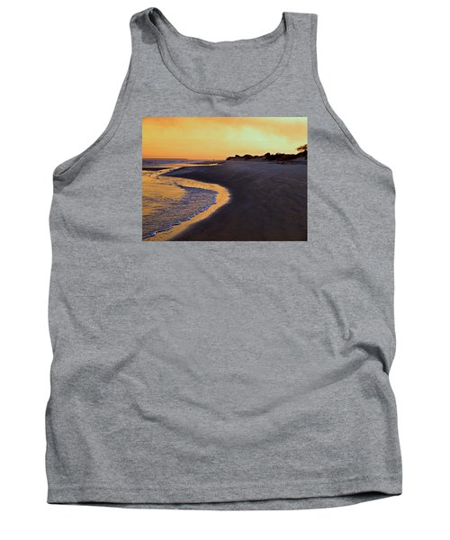 Tank Top featuring the photograph Solitary Walker by Laura Ragland