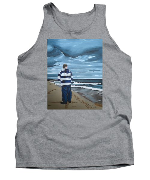 Solitude Tank Top by Donna Blossom