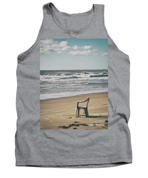 Solo On The Beach Tank Top