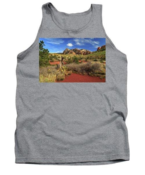 Some Cactus In Sedona Tank Top by James Eddy