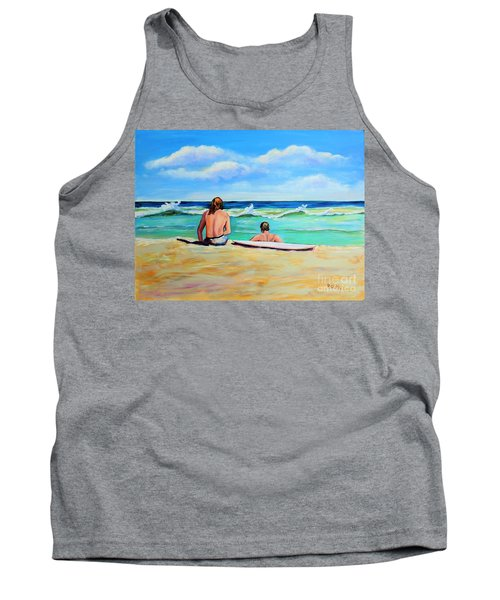Tank Top featuring the painting Some Things Never Change by Patricia Piffath